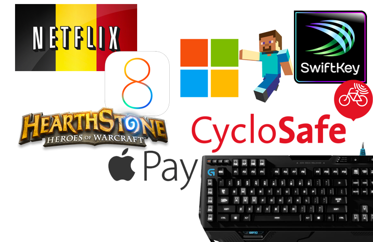 Episode 2: Minecraft, iOS8, Huawei, Apple Pay, Logitech G910, Hearthstone, Swiftkey, Renderman,…