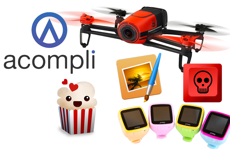 #12: Parrot Bebop Drone, Jumpy, Acompli, Popcorn Time, Regin, Star Wars 7,…