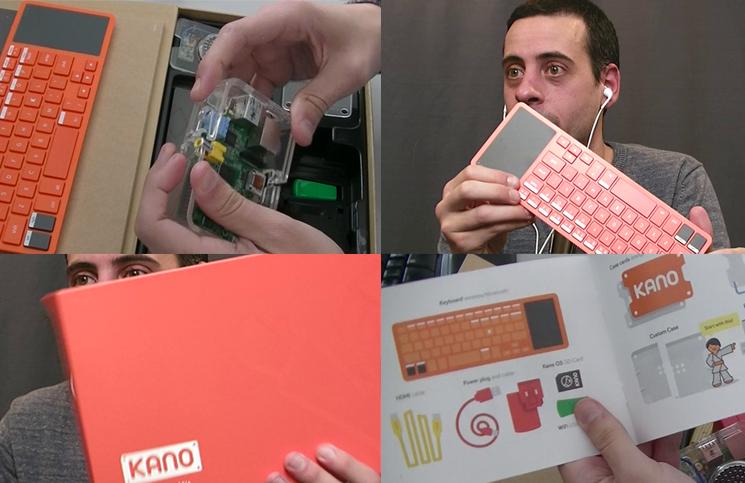 Hors série: Kano, un ordinateur open source à construire soi-même.