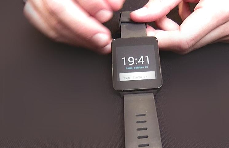 Hors série: LG G Watch (test, présentation)