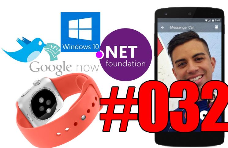#32: .Net Core sous Linux et OS X, Continuum, Apple Watch et tatouage, Contributor de Google, Flop de Tidal,…