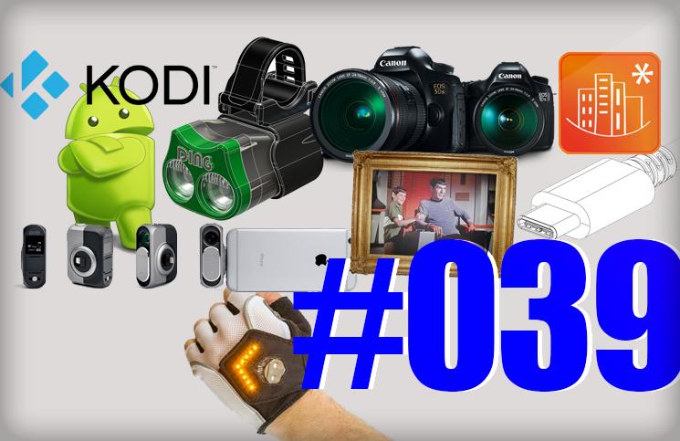 #39: Biolite, Thunderbolt 3 et USB-C, Canon EOS 5DS et 5DS R, DXO One, BetterStreet, Kodi sur le Play Store, Sony A7R II,…