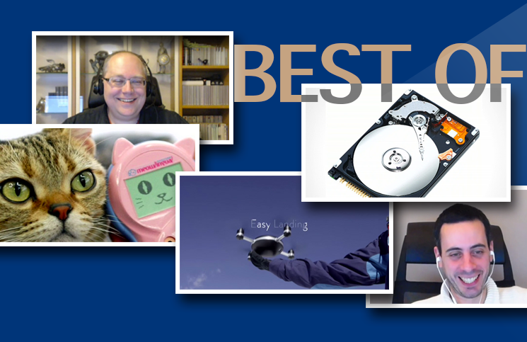 [Best of #2] Gros disque dur, Meowlingual, le drone Lily, l'enfer Google, grosse imprimante 3D,…