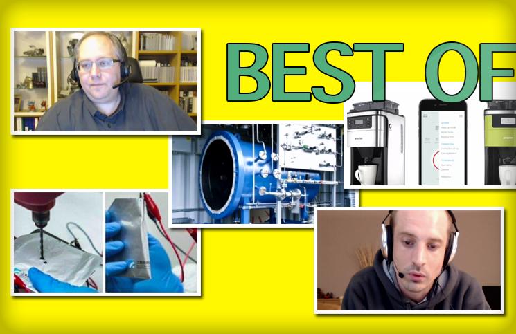 [Best of #6] Imprimante HP 3D, cafetière wifi, batterie graphite-Ion, les limites du MacBook,…