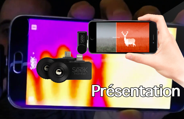 Compact XR de Seek thermal (présentation)
