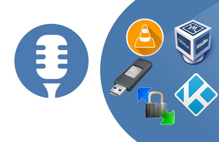 Logiciels libres #2: Rufus, VirtualBox, VLC, Kodi, WinSCP