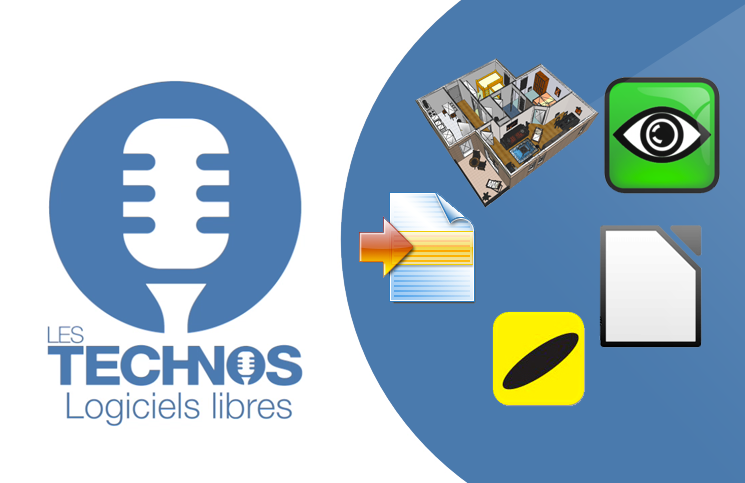 Logiciels libres #4:  Sweet Home 3D,WinMerge, UltraVNC, Sumatra, LibreOffice