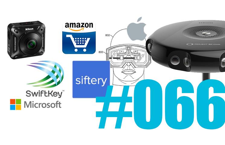 #66: Siftery, Yahoo, Apple vs. Google, Swiftkey, Datacenter Microsoft, Samsung à 360°, la lune en HD,…