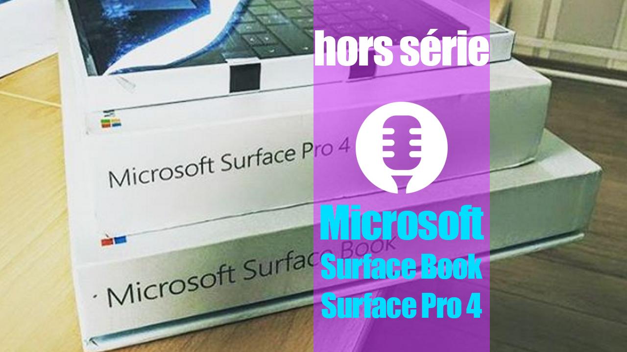 Microsoft Surface Book et Surface Pro 4 (présentation)