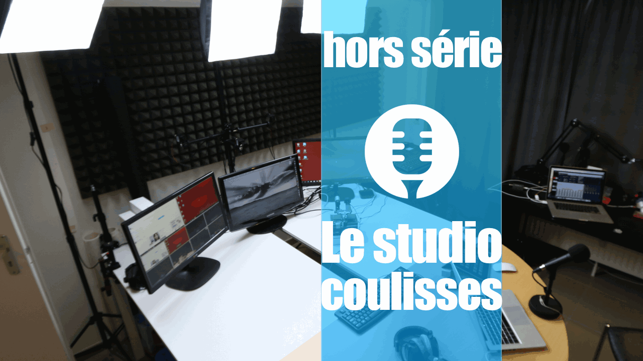 Le studio des Technos: coup d'oeil en coulisses