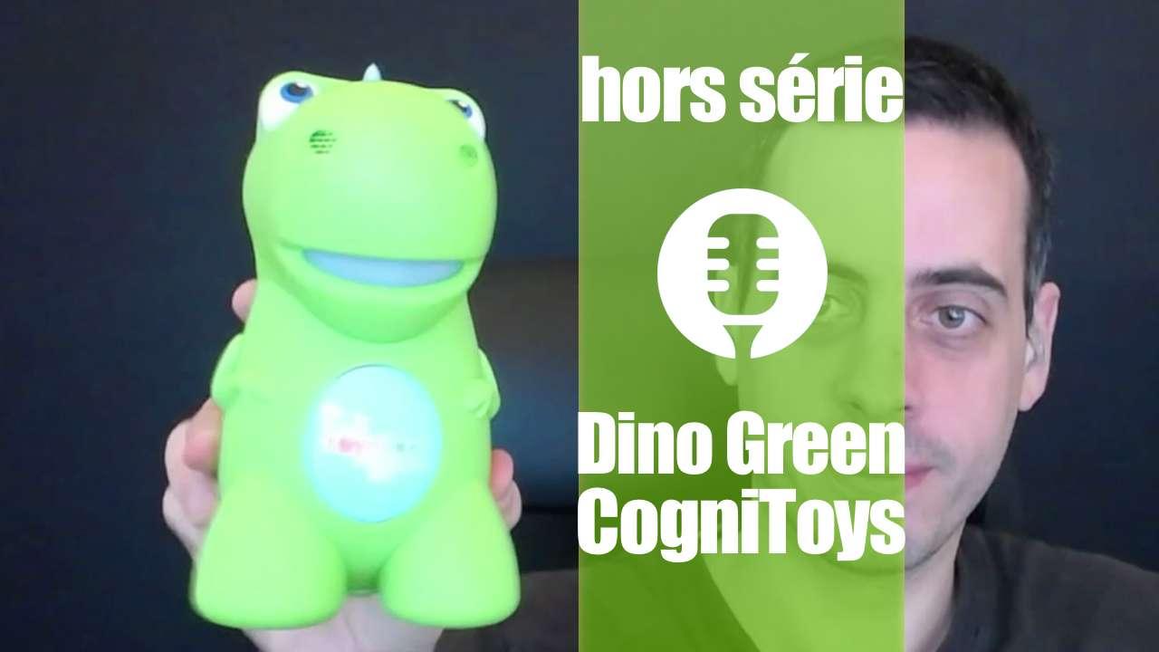 Dinogreen de CogniToys (présentation)