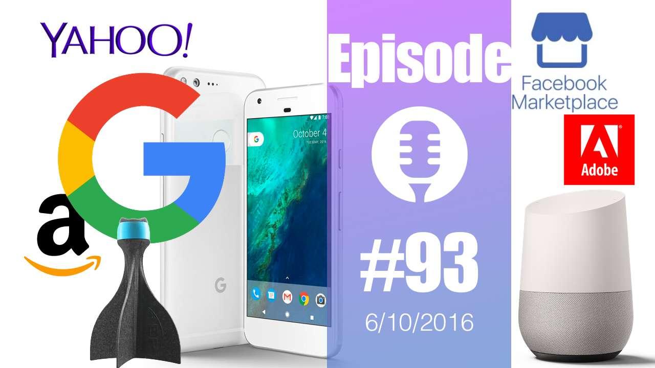 #93: Google Pixel, Home, Assistant, Photoshop et Premiere Element 15,  Memobottle, Facebook Marketplace, Eslov, Nike, Odeur de Mac,…