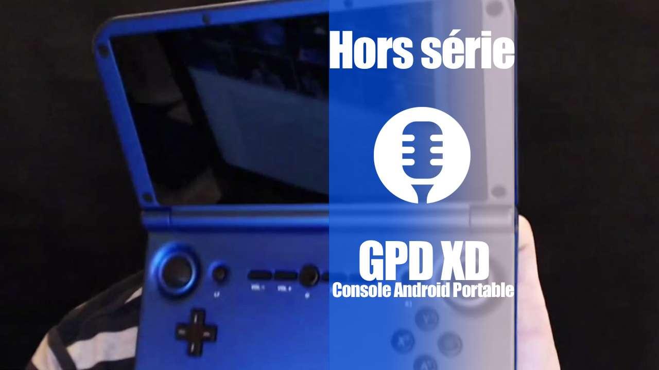 Console portable Android GPD XD (présentation)
