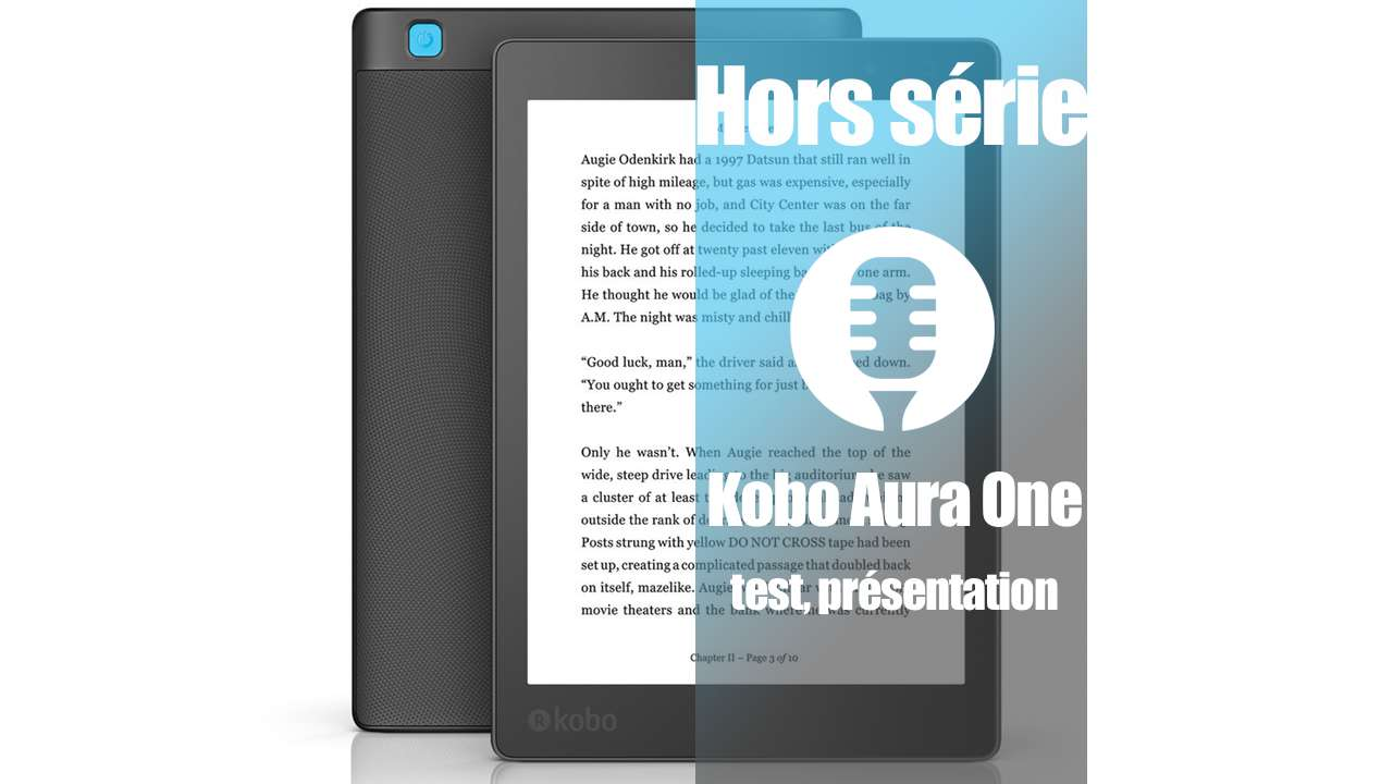 Kobo Aura One (présentation, test)
