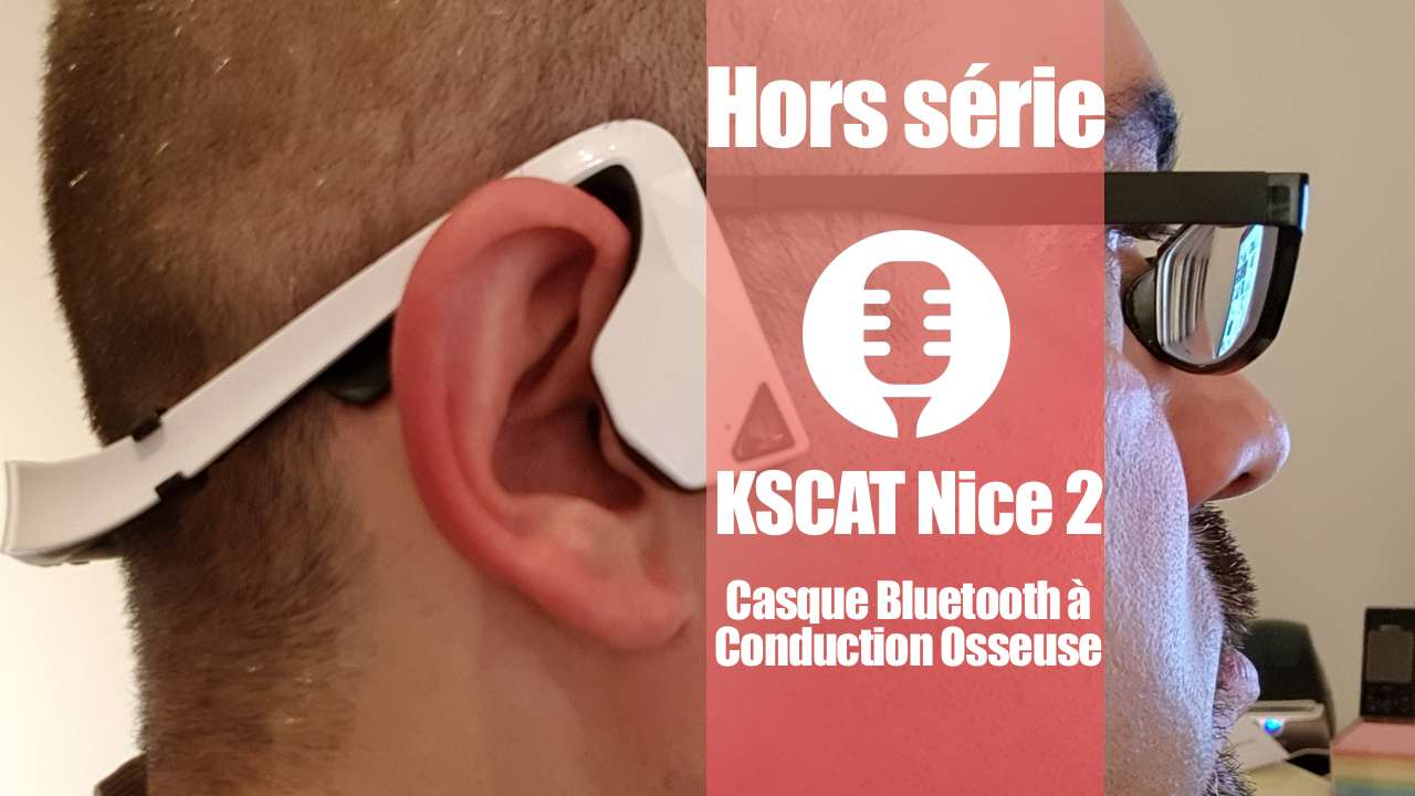 Casque à conduction osseuse: KSCAT Nice 2