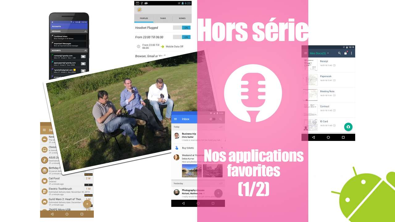 Nos applications favorites (1/2)