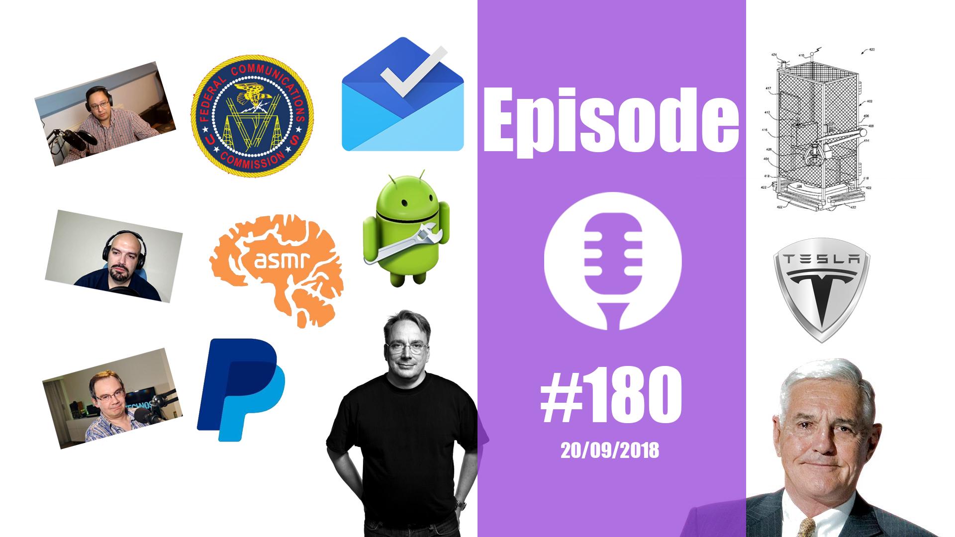 #180: D'Apple à SpaceX en passant par Linus Torvalds, l'ASMR, Bob Lutz, etc…